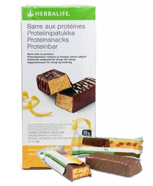 Proteinbarer - Herbalife, 14 stk i pakken